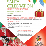 Santa RETURNS to MVT on Saturday, 12/9